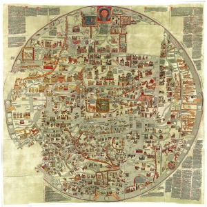 The Ebstorf Map, ca. 1235