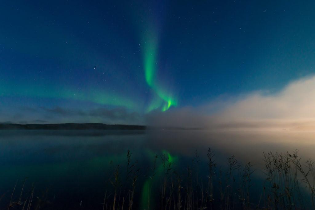 aurora borealis, Sweden, Location: Gimåfors, Medelpad. Image by Rikard Lagerberg