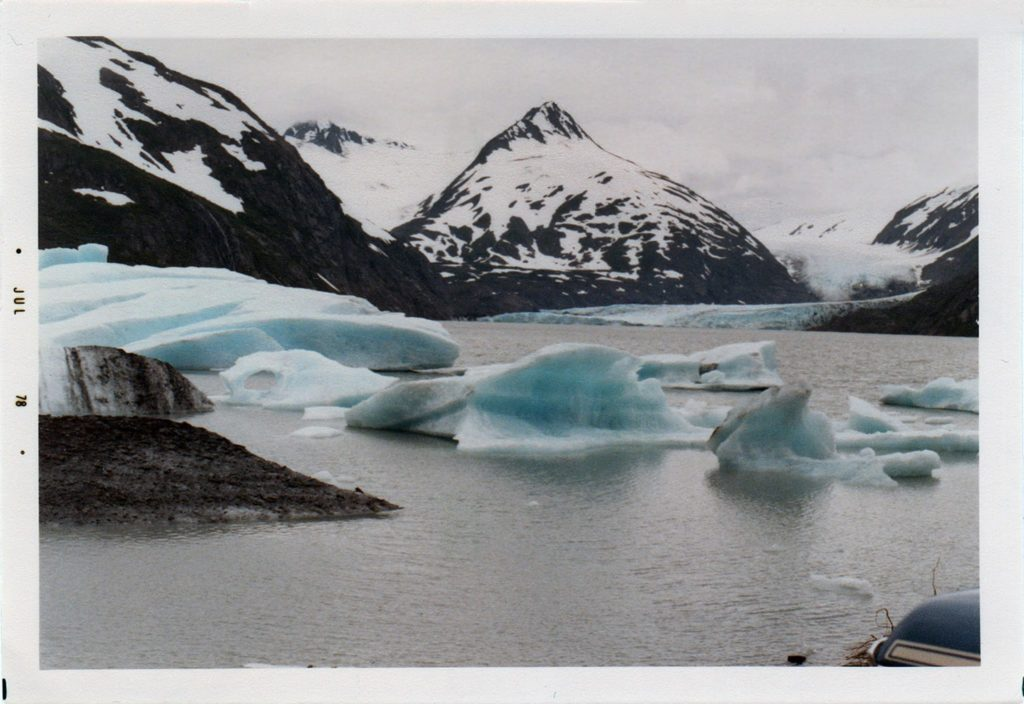Portage Glacier 1978. Photo Ed Rosek.