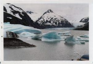 Portage Glacier 1978. Photo Ed Rosek.